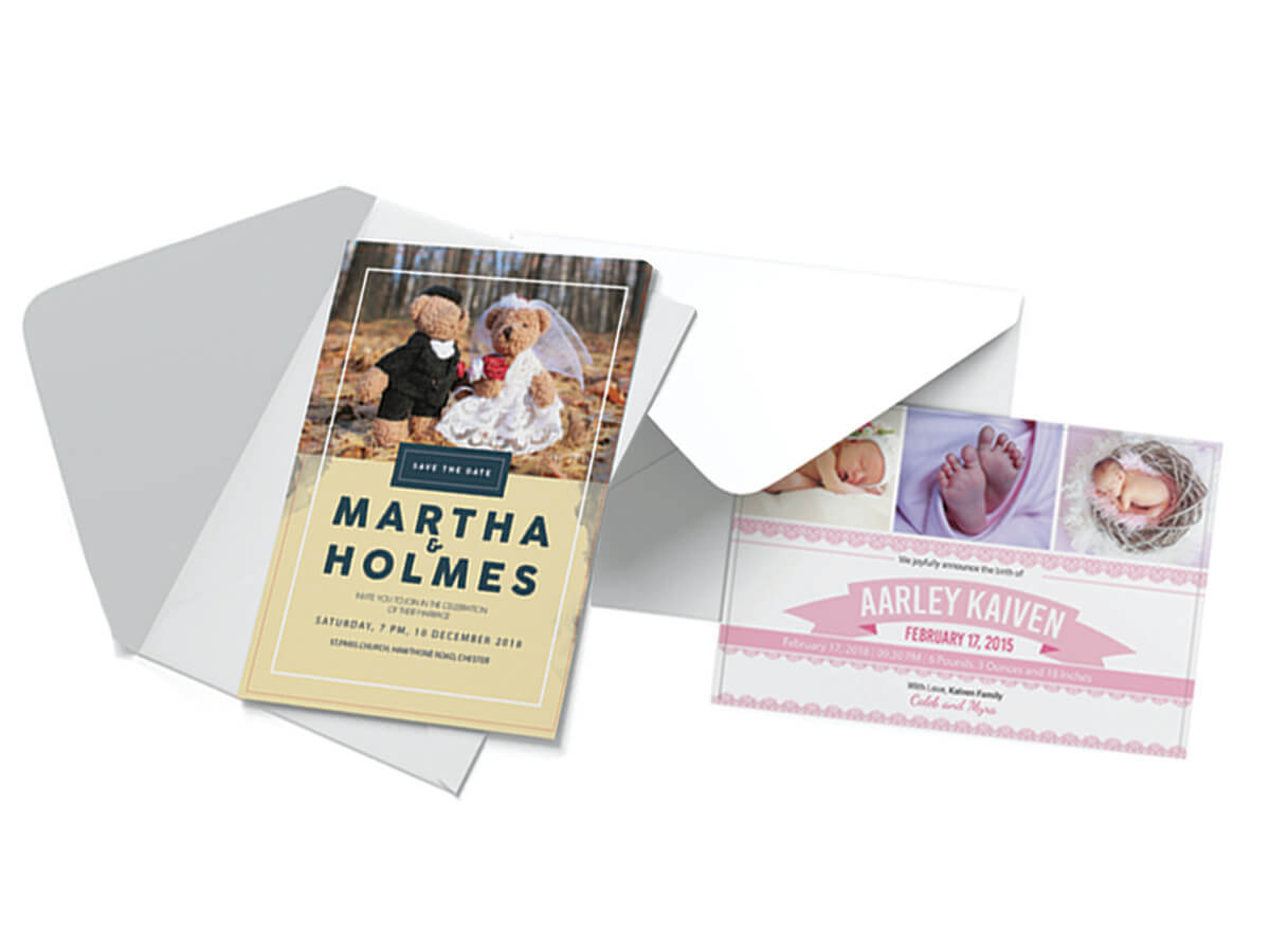 Printing bolton from business cards and business stationery to image of strut cards reheart